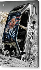 Stars And Stripes  Acrylic Print by James Marvin Phelps