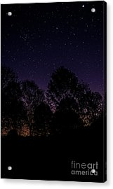 Acrylic Print featuring the photograph Stars by Brian Jones