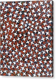 Stars Acrylic Print by Joan De Bot