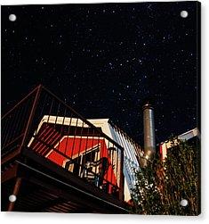 Stars Over Gila Cottage Acrylic Print