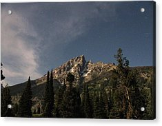 Stars Over Grand Teton Acrylic Print