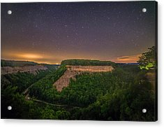 Acrylic Print featuring the photograph Stars Over Great Bend by Mark Papke