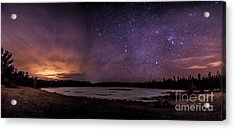 Stars Over Lake Eaton Acrylic Print