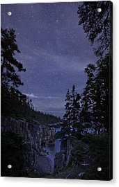 Stars Over Raven's Roost Acrylic Print