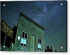 Stars Over Winfield Ghost Town Acrylic Print