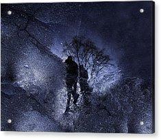 Stars Walking Acrylic Print