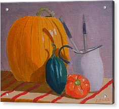 Start Of Fall Acrylic Print