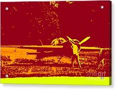 Starting Up A Plane 2 Acrylic Print