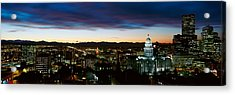 State Capitol Of Colorado, Denver Acrylic Print by Panoramic Images
