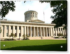 State Capitol Of Ohio Acrylic Print