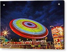 State Fair Acrylic Print by Sennie Pierson