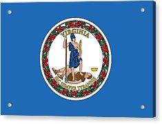 State Flag Of Virginia Acrylic Print