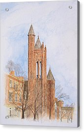 State Street Church Acrylic Print