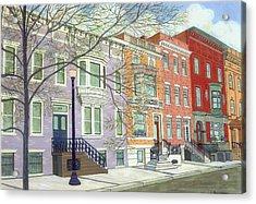 State Street Acrylic Print by David Hinchen