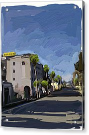 State Street Acrylic Print by Russell Pierce