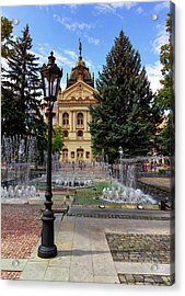 State Theater In The Old Town, Kosice, Slovakia Acrylic Print