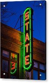 State Theatre - Ithaca Acrylic Print