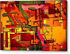 Industrial Autumn Acrylic Print