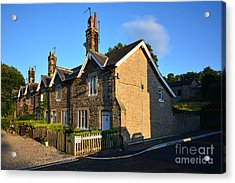 Station Cottages, Richmond Acrylic Print