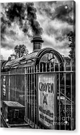 Station Sign Acrylic Print by Adrian Evans