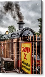 Station Signs Acrylic Print by Adrian Evans