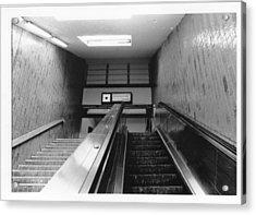 Station Stop  Acrylic Print