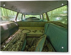 Station Wagon In Color Acrylic Print