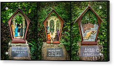 Stations Of The Cross 2 Acrylic Print by Adrian Evans