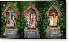 Stations Of The Cross 3 Acrylic Print by Adrian Evans