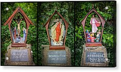 Stations Of The Cross 4 Acrylic Print