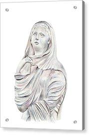 Statue Acrylic Print