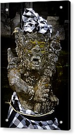 Acrylic Print featuring the photograph Statue Formalwear by T Brian Jones