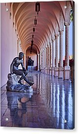 Statue - Loggia Acrylic Print