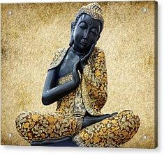 Statue Of Buddha Acrylic Print