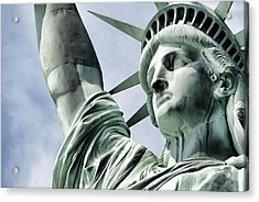 Statue Of Liberty 2 Acrylic Print by Lanjee Chee