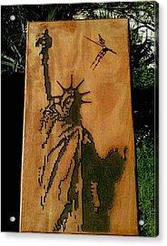 Statue Of Liberty Acrylic Print by Calixto Gonzalez