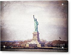 Statue Of Liberty Acrylic Print by Joan McCool