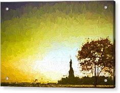 Statue Of Liberty - Nyc Acrylic Print by Matthew Ashton