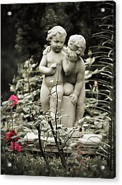 Statue Of Love Acrylic Print