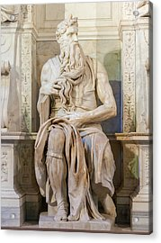 Statue Of Moses Acrylic Print