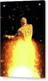 Statue Of Rigas Feraios Acrylic Print
