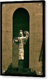 Statues Individual #3 Acrylic Print