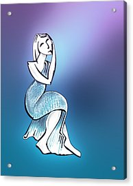 Statuesque Acrylic Print by Keith A Link