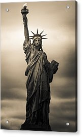 Statute Of Liberty Acrylic Print