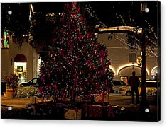 St.augustinelights4 Acrylic Print by Kenneth Albin