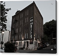 Staunton Mill Street Bar And Grill Acrylic Print