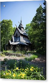 Stavkirke Church Acrylic Print