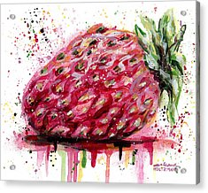 Stawberry 1 Acrylic Print
