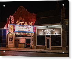 Stax Records - Memphis Acrylic Print by Stephen Stookey