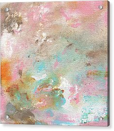 Stay- Abstract Art By Linda Woods Acrylic Print by Linda Woods